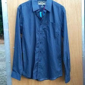 Cinch Button Down Shirt *NWT*